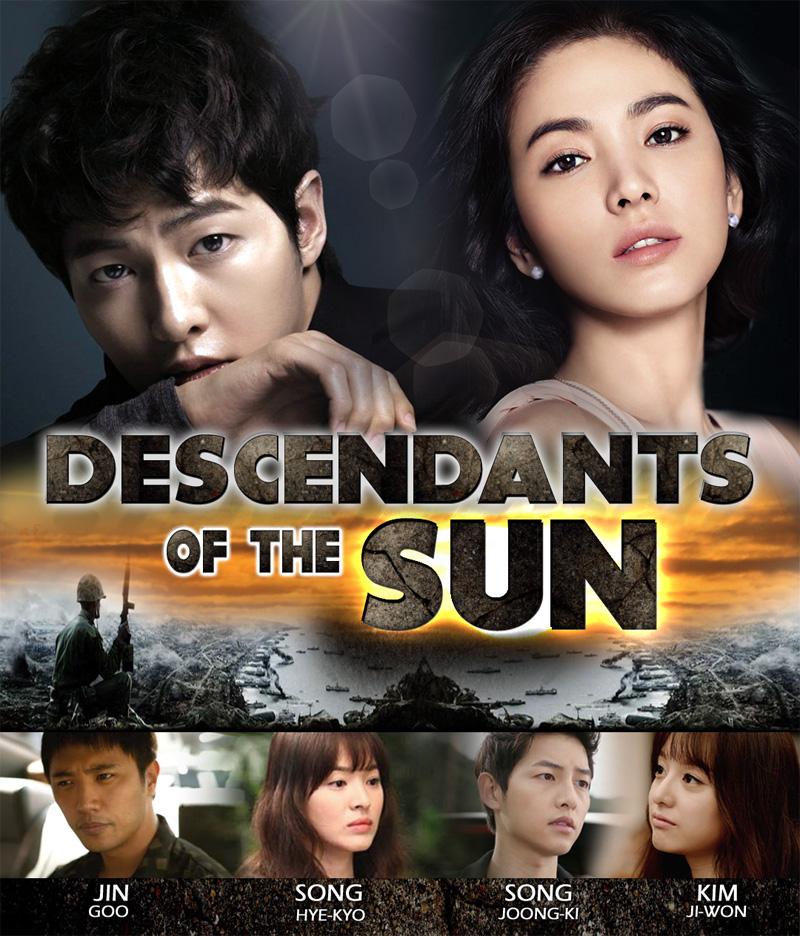 Сериал Сошедшие с солнца ~ 태양의 후예 Taeyangui Huye ~ Descendants of the Sun (Южная Корея)
