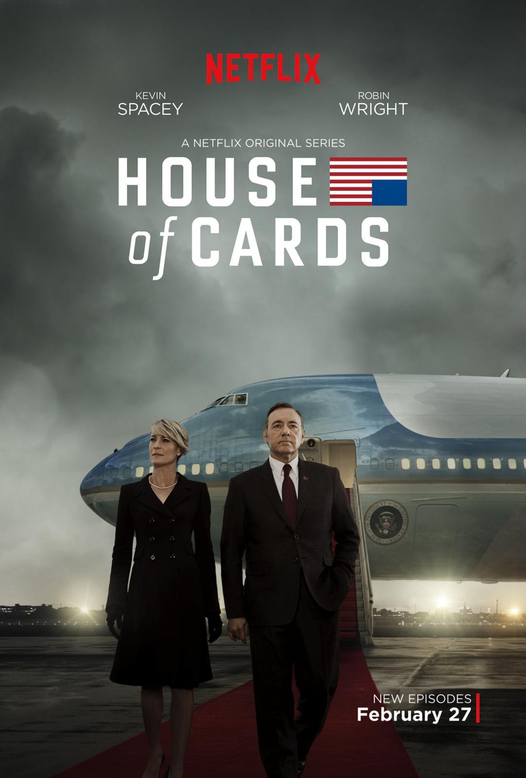 Карточный домик (House of Cards, Netflix) - постер 3 сезона.jpg