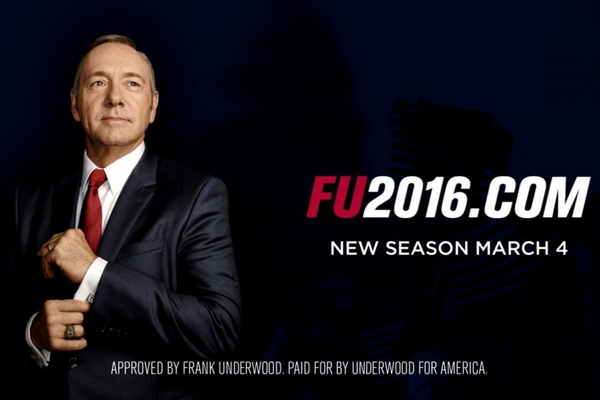 Сериал Карточный домик (House of cards, Netflix) - 4 сезон, премьера 2016.jpg