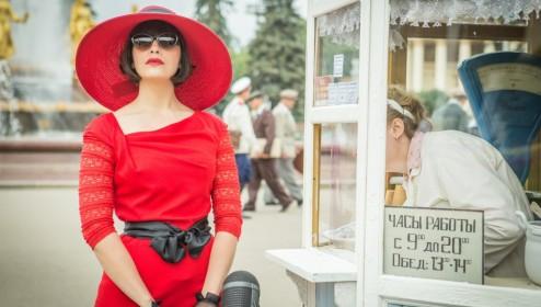 Сериал Красная королева (2015) - Красота по-советски ...