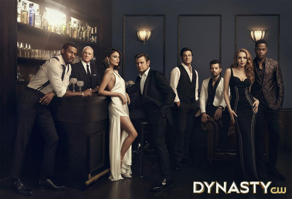 Dynasty 1 Season Cast Promo - The CW (Poster) 2017.jpg