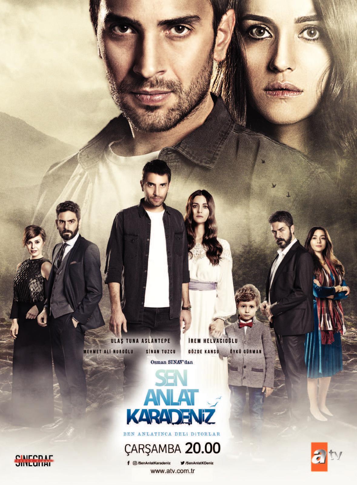 Сериал Ты расскажи, Карадениз ~ Sen Anlat Karadeniz (Турция)