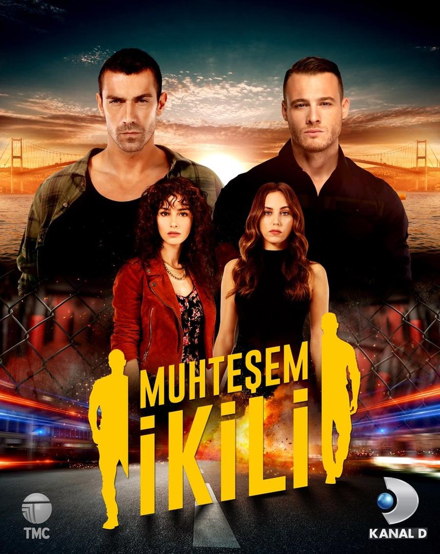 Сериал Великолепный дуэт ~ Великолепная двойка ~ Muhtesem Ikili (Турция)