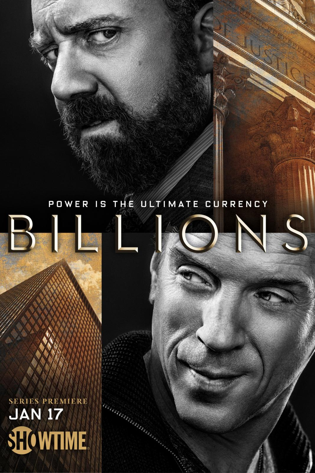 Сериал Миллиарды ~ Billions (Showtime)
