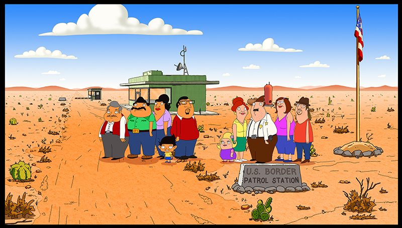 BORDERTOWN is coming to FOX