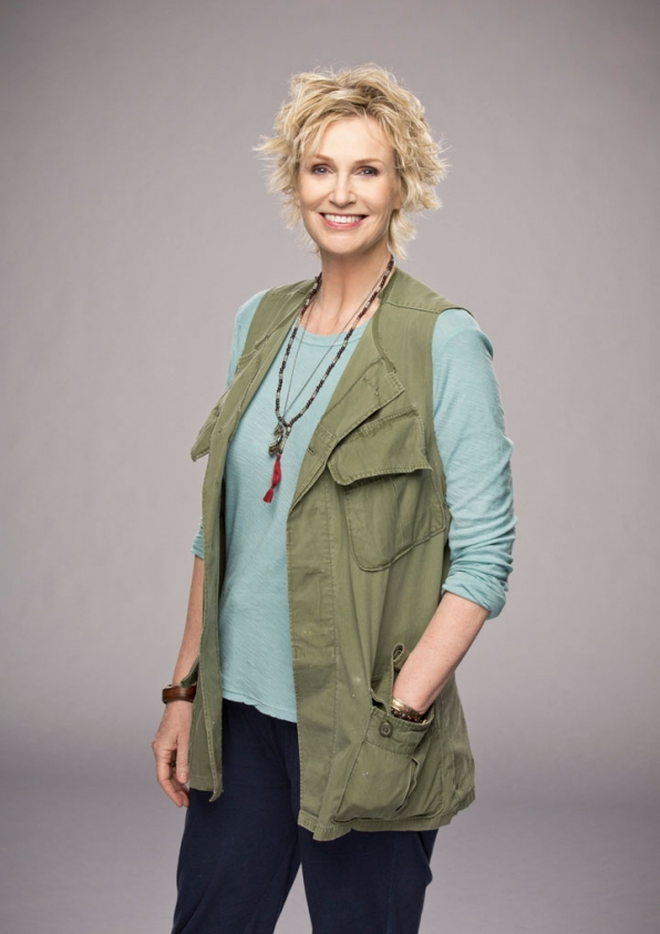 Angel from Hell cast 2016 - Jane Lynch as Amy.jpg