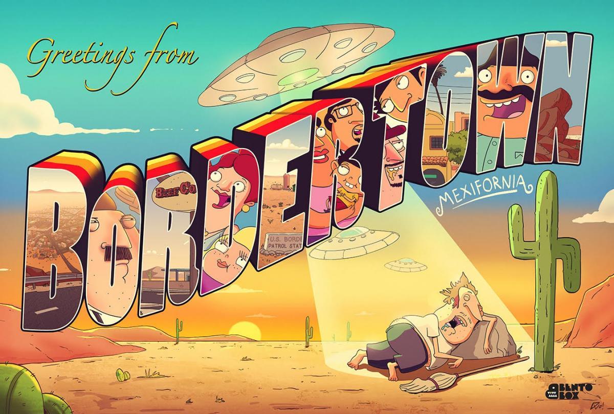 Анимационный сериал Приграничнй город (Bordertown) - премьера сезона 2016, FOX.jpg