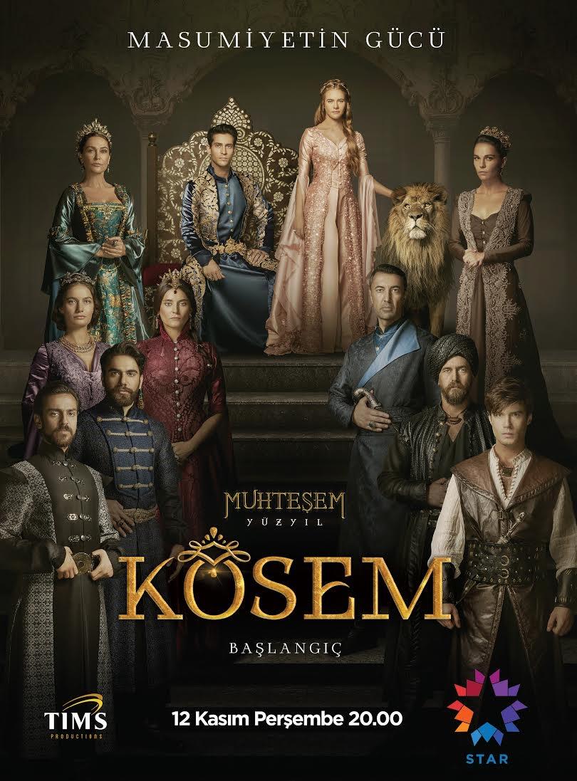 Сериал Великолепный век. Империя Кесем ~ Muhteşem yüzyıl Kösem (Турция)